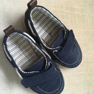 Kids Navy Dress Shoes Size 5